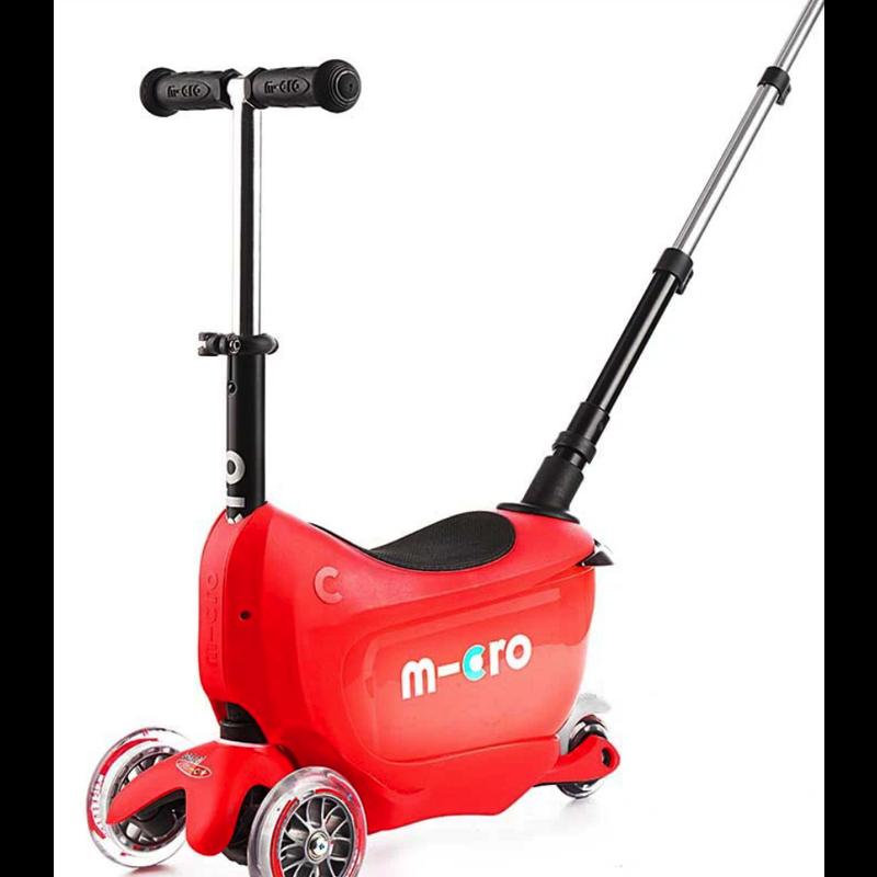 Micro Micro Mini2Go Deluxe Plus - Red