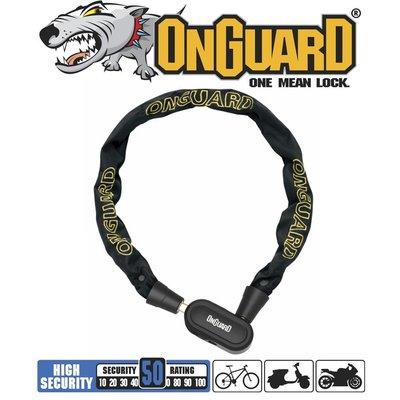 ONGUARD OnGuard Fastlock Series - Chain Keyed - 90mm Dia 5.5mm