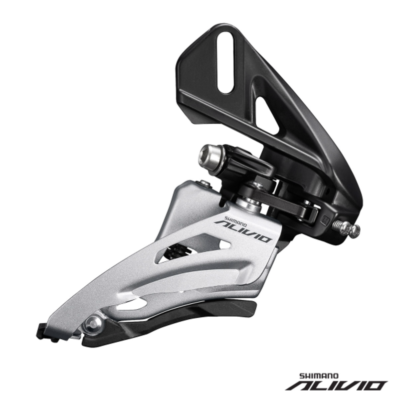 Shimano FD-M3120-D FRONT DERAILLEUR ALIVIO 2x9 SIDE-SWING for 36T CS ANGLE:64-69 CL48.8mm/51.8mm