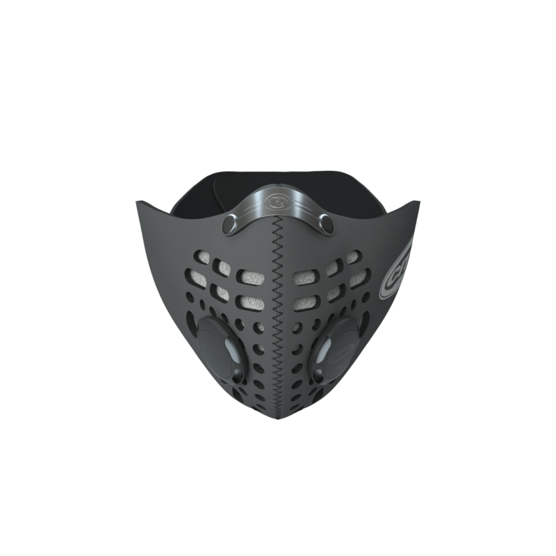 RESPRO CITY  MASK WITH DACC FILTER BLACK RESPRO M