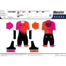 Bike Place Tri Suit Mens