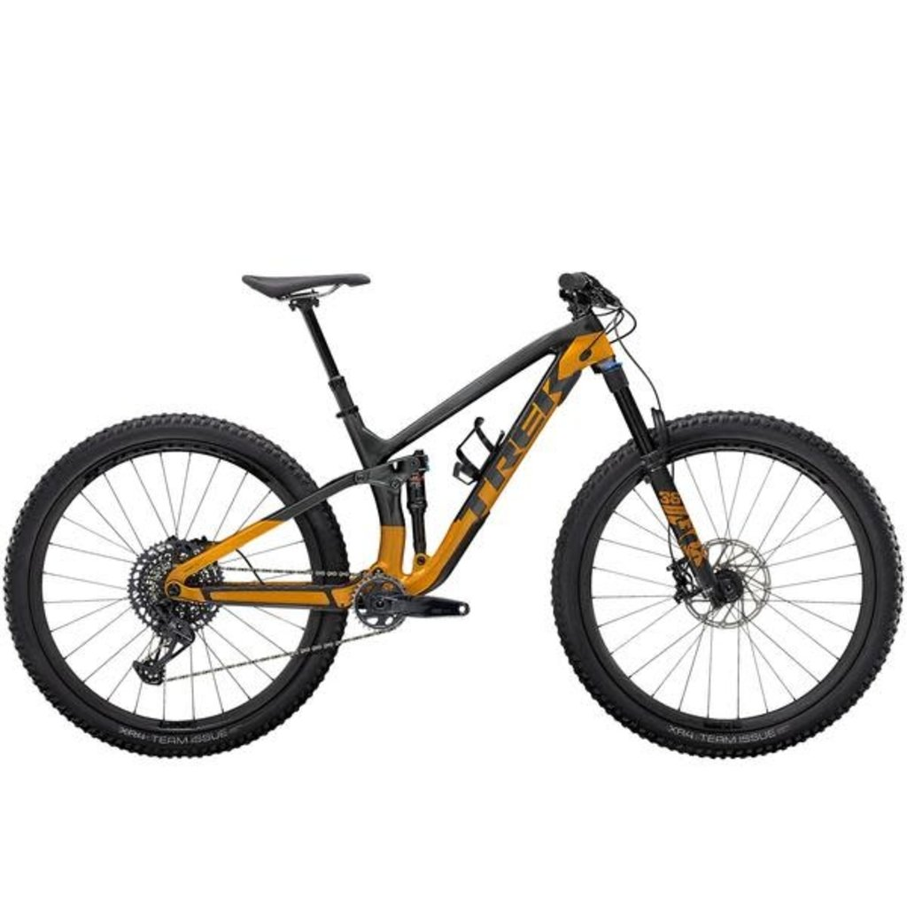 Trek 2021 Trek Fuel EX 9.8 GX L 29 Lithium Grey/Factory Orange