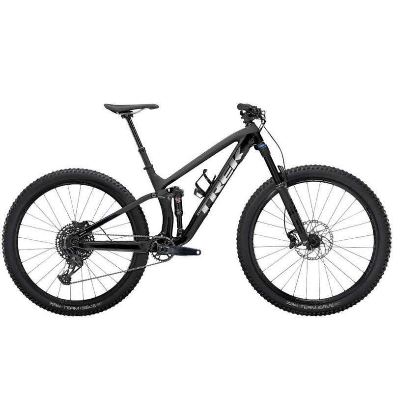 Trek 2021 Trek Fuel EX 9.7 NXGX M 29 Matte Raw Carbon/Gloss Trek Black