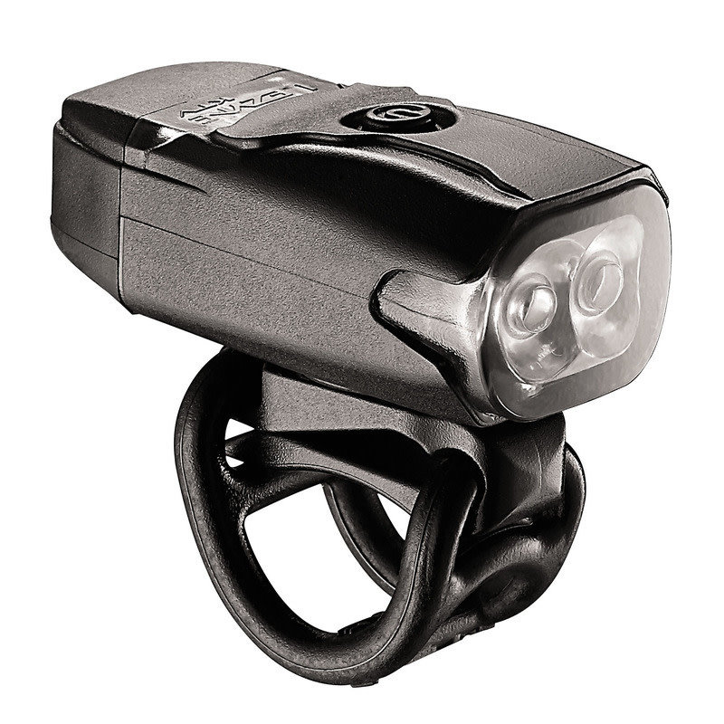LEZYNE LED KTV DRIVE FRONT 200 - BLACK