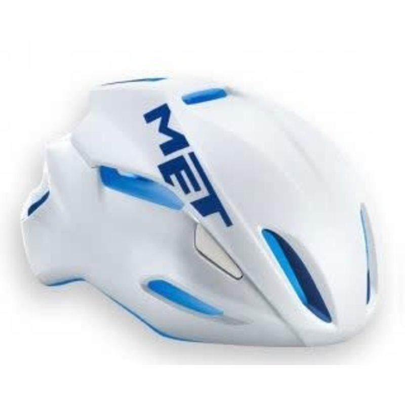 MET **MET MANTRA 54-58 Helmet White/Blue