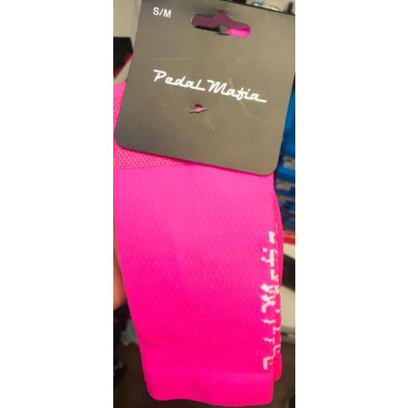 PEDAL MAFIA **PM Hot Pink Sock - S/M
