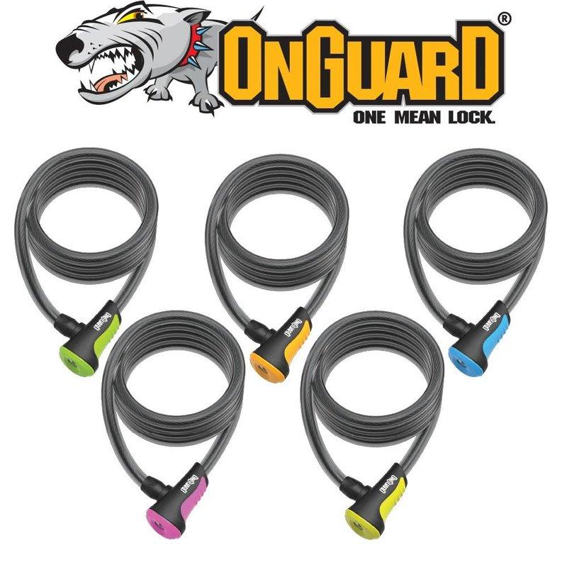 ONGUARD ONGUARD NEONS KEY LOCK 120CM X 8 MM