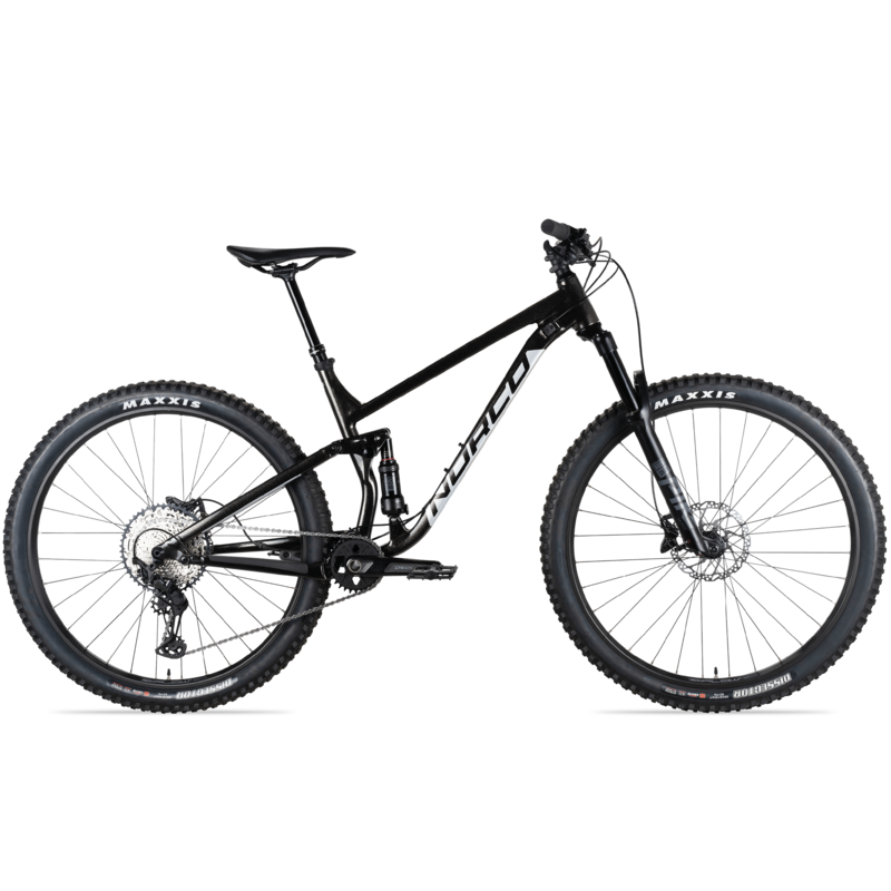 Norco 21 FLUID FS 1 (29) - BLACK/SILVER XL