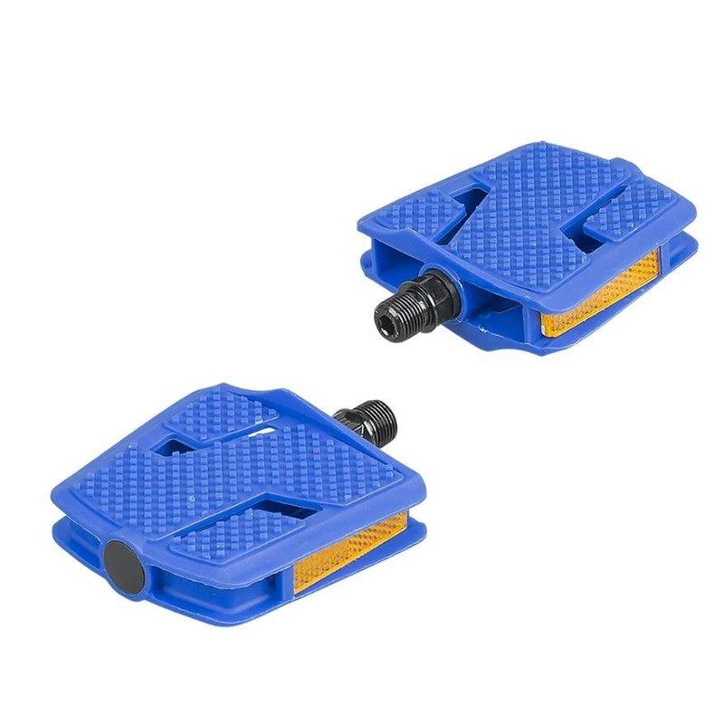Bontrager Trek Kids' Platform Large Pedal Set Blue