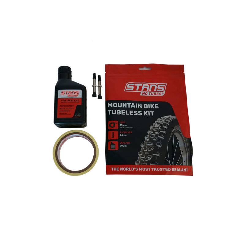 Stan's No Tubes NoTubes Tubeless Kit MTB 27 Tape 44 Valve