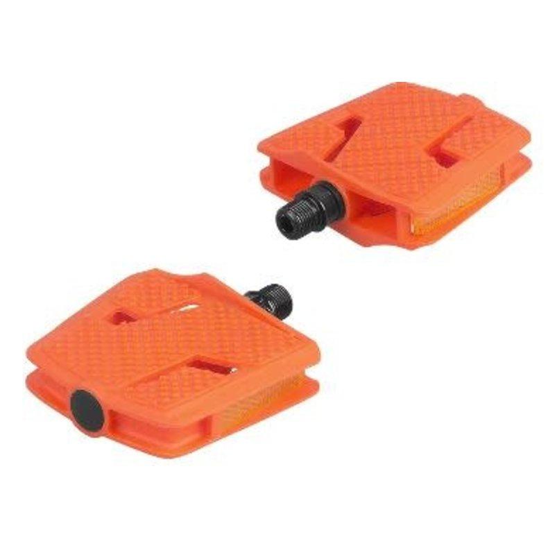 Bontrager Trek Kids' Platform Large Pedal Set Orange