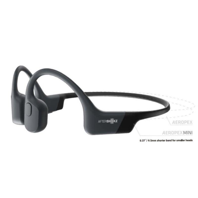 AFTERSHOKZ AFTERSHOKZ AEROPEX MINI Wireless Bluetooth Headphones COSMIC BLACK