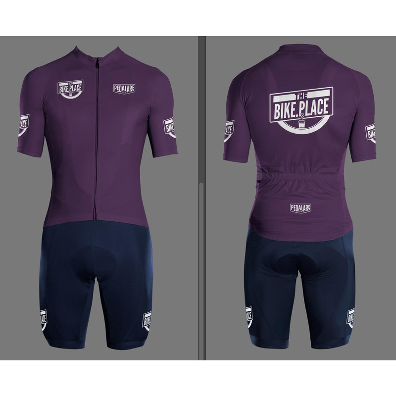 Bike Place TBP Shades of Purple -  Wine Top Mens