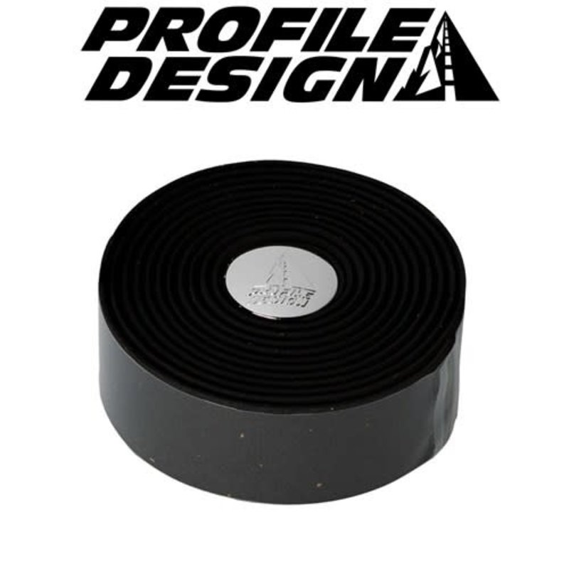 PROFILE DESIGN PD Cork Handlebar Tape - Black