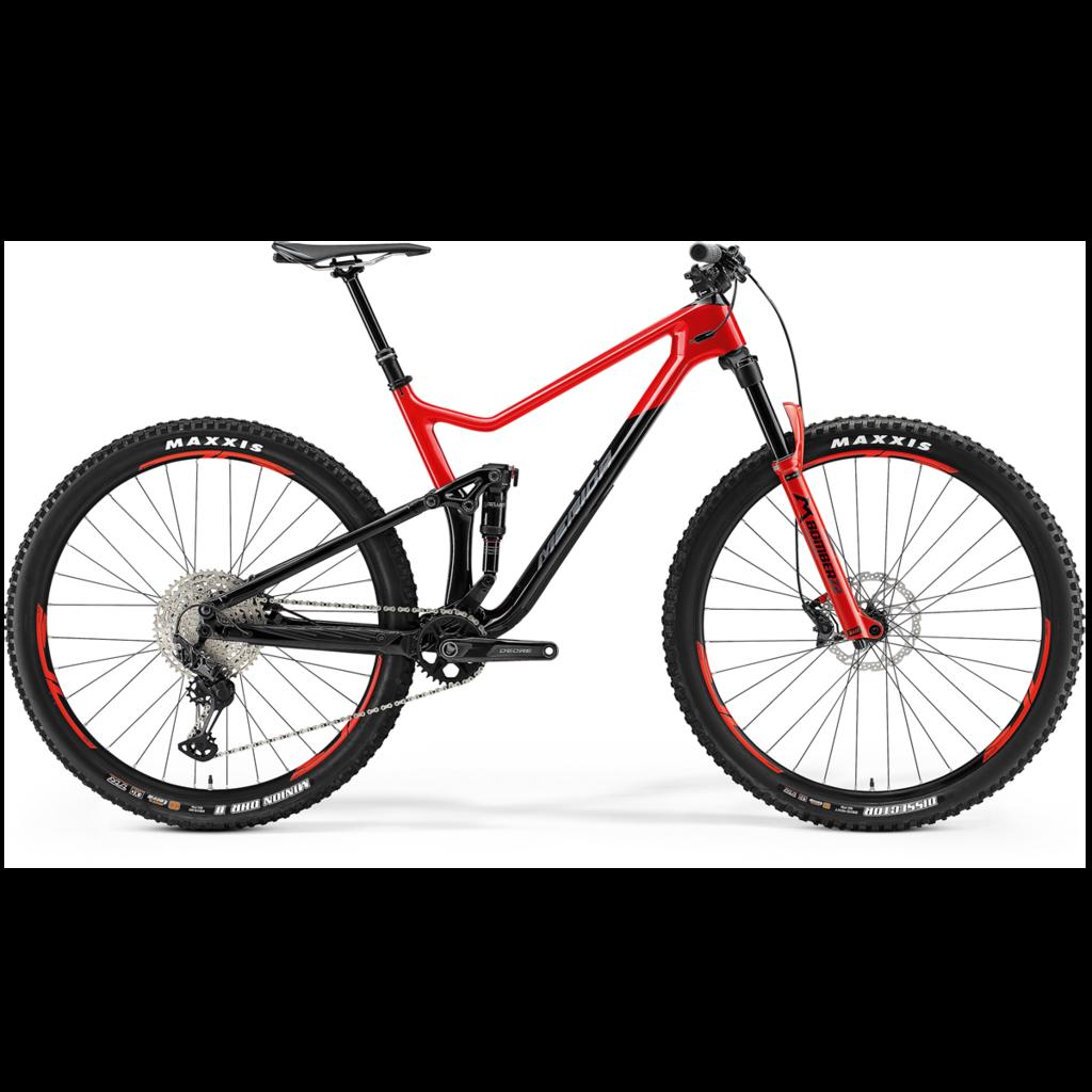 Merida 21 ONE TWENTY 3000 - BLACK/GLOSSY RACE RED MED 29