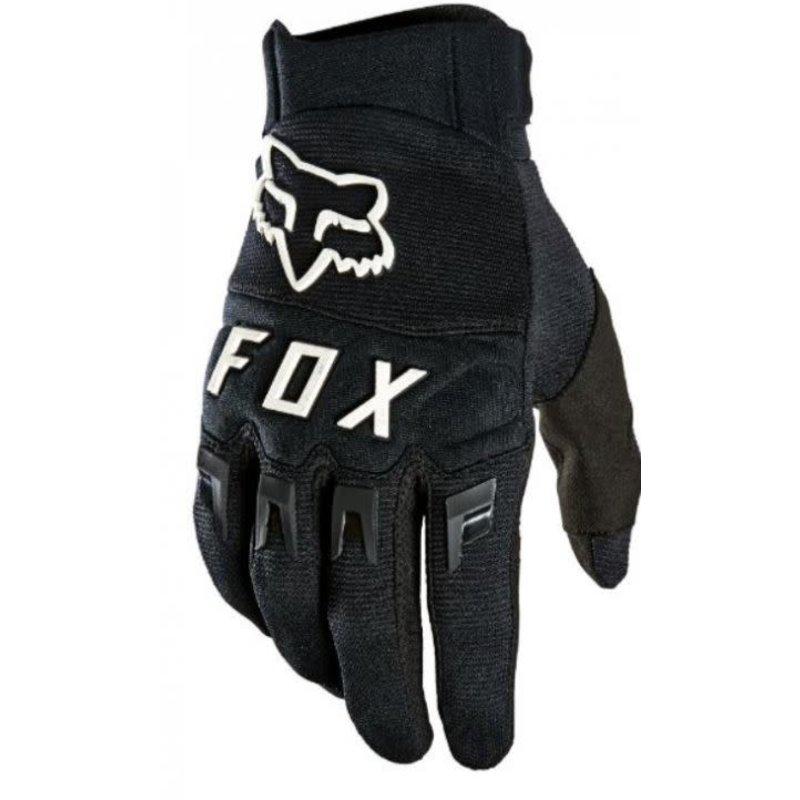 FOX FOX DIRTPAW GLOVE BLACK/WHITE