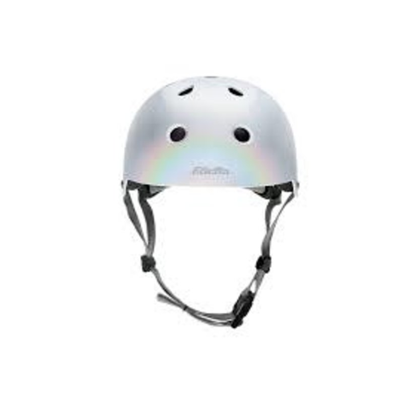 Bontrager Helmet Electra Lifestyle Lux Holographic Small Silver QAS