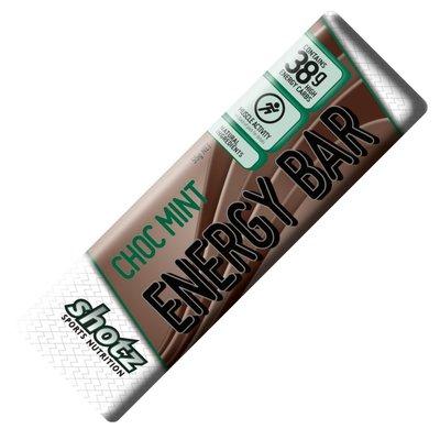 SHOTZ **Shotz Energy Bar - Choc Mint 55g