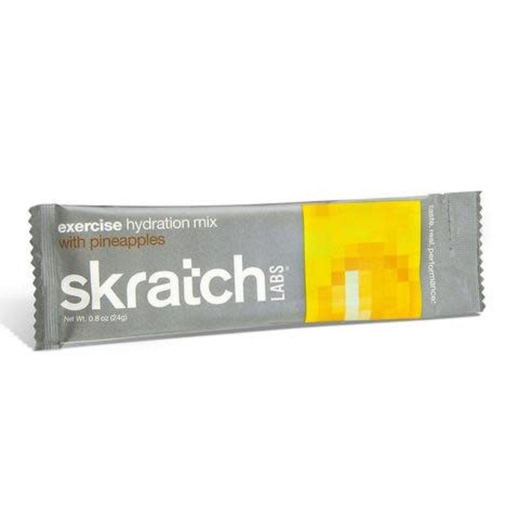SKRATCH Labs Sports Hydration Drink Mix Pineapple Single