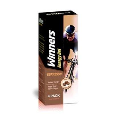 WINNERS Winners Gel Espresso 4x45g