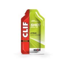 CLIF SHOT GEL CITRUS  (25mg CAFFEINE)
