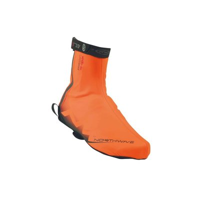Northwave Northwave H2O Waterproof Shoecover Fluro - Orange XL