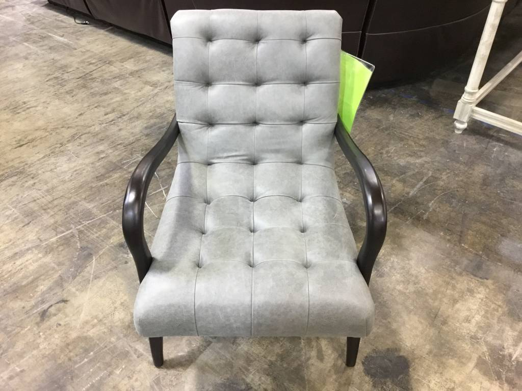 SE11921-10LthrVerdecaDISC Spectra Angie Accent ChairCLEARANCE
