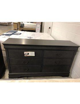 Top Line Furniture HE 2147SG-5DISC Top Line Gray Dresser