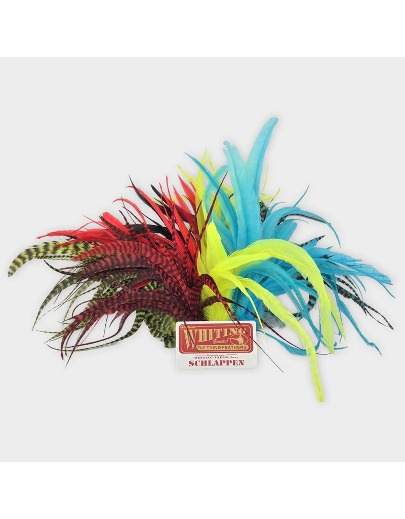 """Yellow /"""" WHITING SCHLAPPEN BUNDLE 10/""""-14/""""   /"""" Grizzly"""