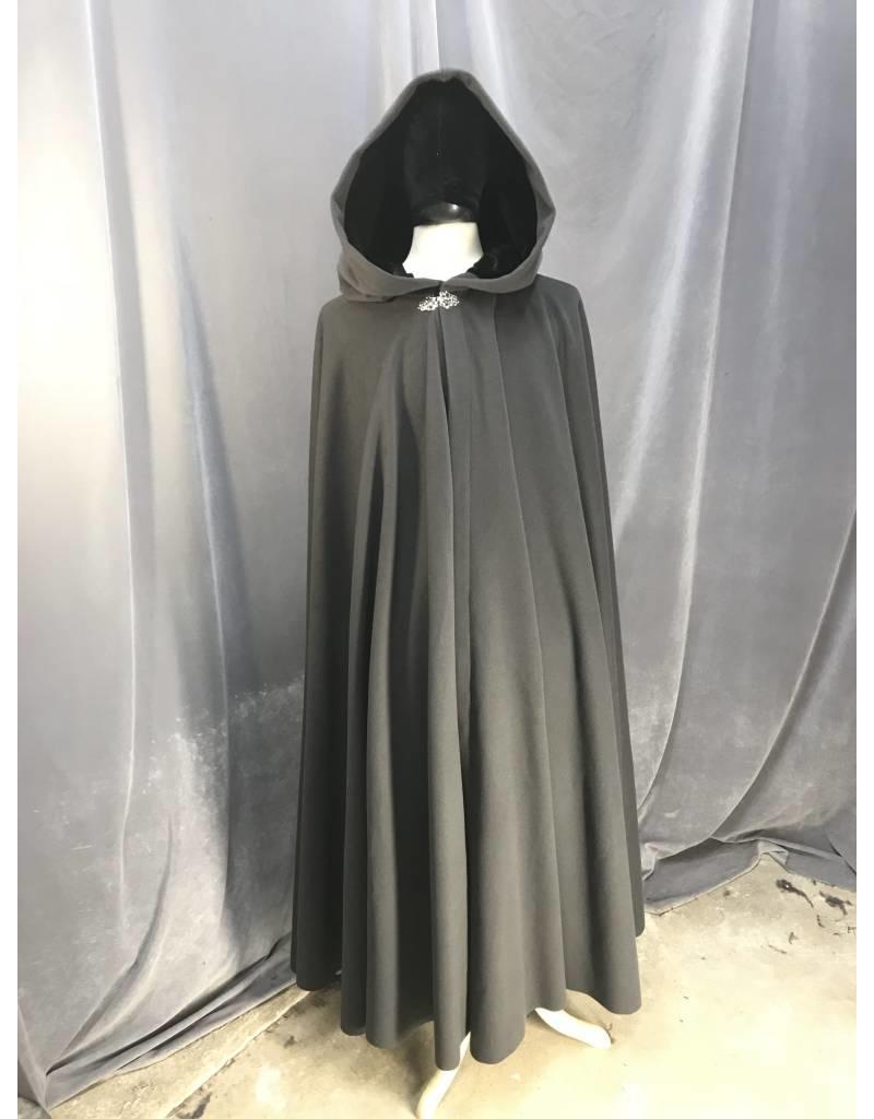 43efa9cafe 3881 - Medium Grey Full Circle cloak