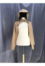 Cloak and Dagger Creations 3915 - Fawn brown Hobbit Cloak, Unlined Hood