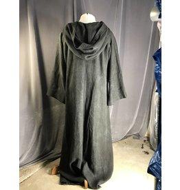 Cloak and Dagger Creations R438 - XL Dark Grey Cotton Monk Robe