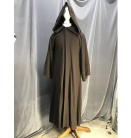 R440 - XL Umber Brown Jedi Robe with Pockets