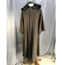 R442 - XL Umber Brown Jedi Robe