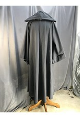 Cloak and Dagger Creations R445 - Slate Grey Jedi Robe w/Pockets, Pewter Vale Clasp