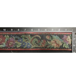 Floral Tapestry Trim w/Gold