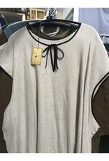 Cloak and Dagger Creations J601 - Tan Tunic w/ Brown Trim