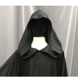 Cloak and Dagger Creations R452 - Extra Long Black Wool Holocaust Robe