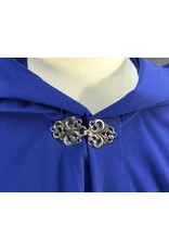 Cloak and Dagger Creations 4055 - Bright Blue Full-Circle Youth Cloak, Pewter Vale Clasp