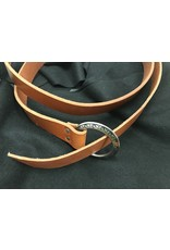 Cloak and Dagger Creations 1.5'' English Tan Ring Belt with Fancy Buckle