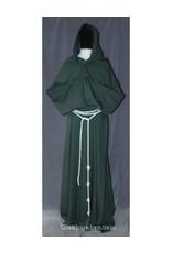 Cloak and Dagger Creations White Rope Belt, Double Wear, Triple Cincture, Medium