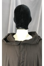 Cloak and Dagger Creations R461 - Washable XXL Seal Brown Jedi Robe with Pockets, Hidden clasp