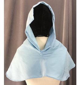 Cloak and Dagger Creations H230 - Hood in Light Blue, Water Resistant, Lightweight
