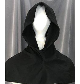 Cloak and Dagger Creations H190 - Black Hood lightweight twill