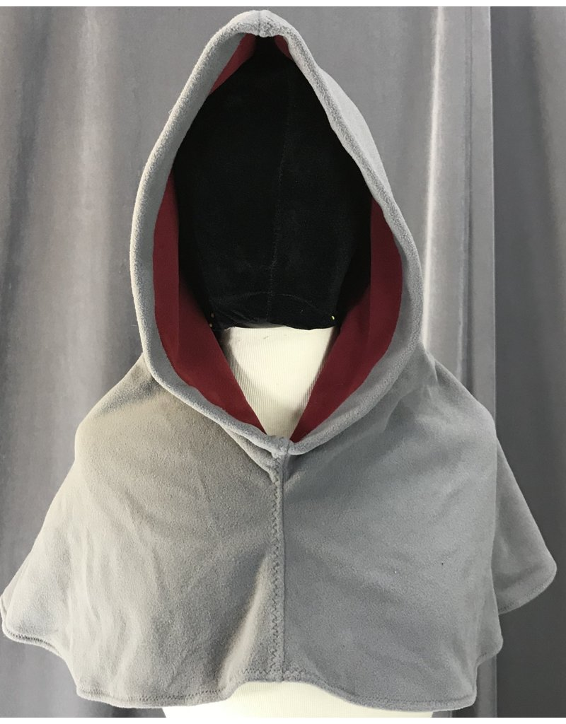 Cloak and Dagger Creations H197 - Hood in Elephant Grey Windbloc Fleece