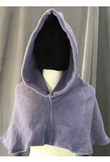 Cloak and Dagger Creations H198 - Hood in Muted Amethyst Fleece