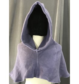 Cloak and Dagger Creations H198 - Hood in Dusty Purple Fleece