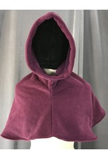 Cloak and Dagger Creations H200 - Hood in Red-Violet Fleece, Heavyweight