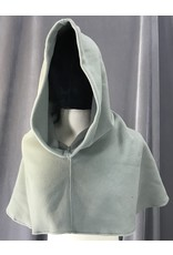 Cloak and Dagger Creations H205 - Hood in Warm Grey Fleece, Heavyweight, Easy Care