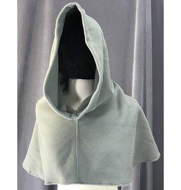 Cloak and Dagger Creations H205 - Hood in Warm Grey Fleece, Heavyweight